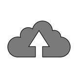 Conception de calcul de nuage Photo stock