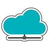 Conception de calcul de nuage Photo libre de droits