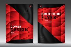 Conception de calibre de couverture, insecte de brochure d'affaires, rapport annuel, annonce de mgazine, publicité, disposition d illustration libre de droits
