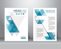 Conception de calibre de brochure d'affaires, vecteur illustration libre de droits