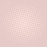 Conception de calibre de vecteur de fond d'Art Pastel Purple Dots Comic de bruit Photographie stock