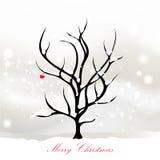 Conception de carte de Noël Photo libre de droits
