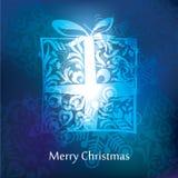 Conception de carte postale de Noël de vecteur Image libre de droits