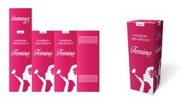 Conception de carton d'emballage illustration stock