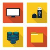 Conception de centre de traitement des données Images stock