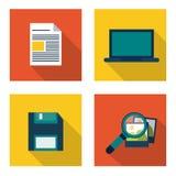 Conception de centre de traitement des données Images libres de droits