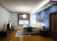 Conception de chambre à coucher Photo stock