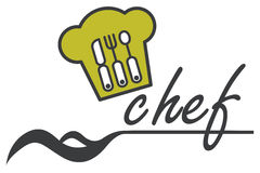Conception de chef Photo stock