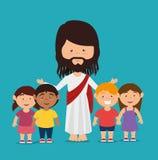 Conception de christianisme illustration stock
