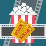 Conception de cinéma Photos libres de droits