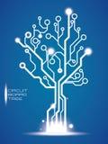 Conception de circuit Photos libres de droits