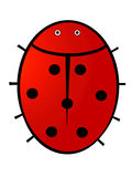 Conception de coccinelle illustration stock