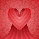 Conception de coeur Image stock