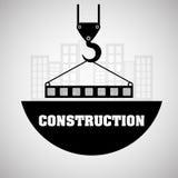 Conception de construction Crane Icon réparez le concept, illustration de vecteur Photos libres de droits