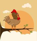 Conception de coq illustration stock