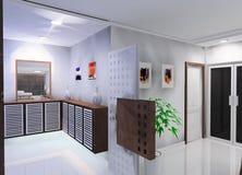 Conception de couloir illustration stock