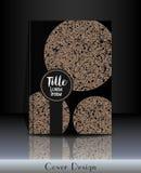 Conception de couverture Calibre de couverture avec des formes rondes et endroit pour votre texte Illustration Libre de Droits