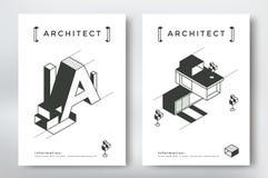 Conception de couverture d'architecture illustration de vecteur