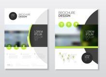 Conception de couverture de catalogue Templa d'illustration de vecteur de rapport annuel  Images libres de droits