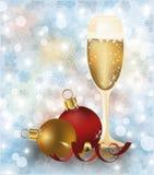 Conception de couverture de Joyeux Noël et de bonne année Images stock