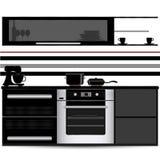 Conception de cuisine Photographie stock libre de droits