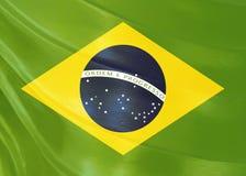 Conception de drapeau du Brésil Image libre de droits