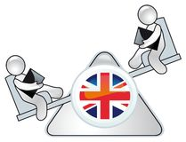 Conception de durée politique de la Grande-Bretagne Photo stock