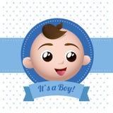 Conception de fête de naissance Photos stock