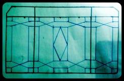Conception de fenêtre Images stock