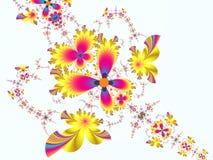 Conception de fleur illustration libre de droits