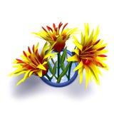 Conception de fleur Image libre de droits