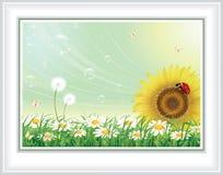 Conception de fleur Images libres de droits