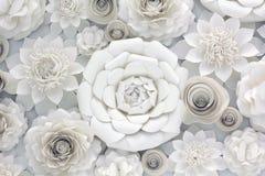 Conception de fleur de papier Photographie stock libre de droits