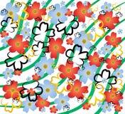 Conception de fleurs Illustration Stock