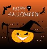 Conception de fond d'illustration de vecteur de célébration de Halloween Images libres de droits