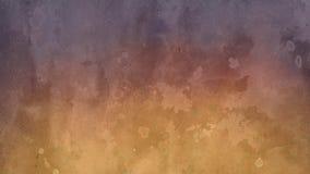 Conception de fond dans jaune et pourpre avec le lavage d'aquarelle et la conception brouillés blancs de purge de frange dans les illustration stock