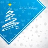 Conception de fond pendant des vacances de Noël Images stock
