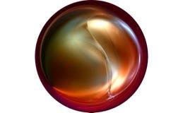 conception de fractale rendue par 3D Image libre de droits