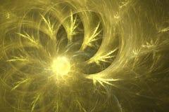 Conception de fractale de The Sun Images libres de droits