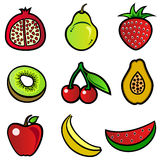 Conception de fruit Image stock