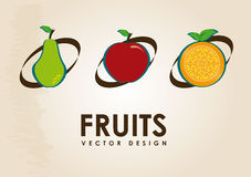 Conception de fruit Photo libre de droits