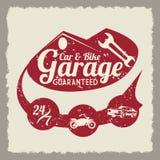 Conception de garage Image stock
