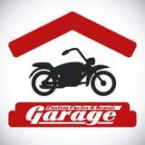 Conception de garage Images stock