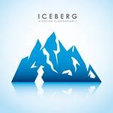 conception de glacier d'iceberg Photographie stock