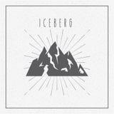 conception de glacier d'iceberg Photo stock