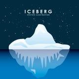 conception de glacier d'iceberg Images stock