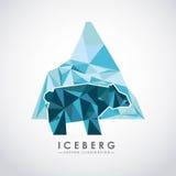 conception de glacier d'iceberg Images libres de droits
