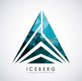 conception de glacier d'iceberg Photo libre de droits
