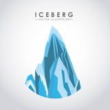 conception de glacier d'iceberg Photographie stock libre de droits