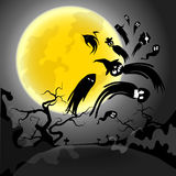 Conception de Halloween Images stock